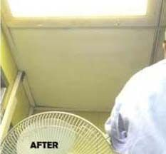ceiling oven cleaning